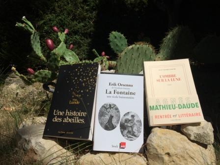 Sélection rentrée littéraire