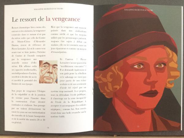 """Extrait du magazine, box littéraire """"Secrets d'Auteurs"""""""