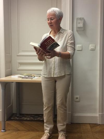 Jacqueline Dewerdt, lecture de son roman