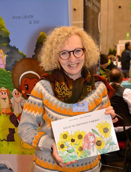 Anne Libotte et ses livres pour enfants dyslexiques